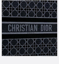 Load image into Gallery viewer, Dior Book Tote • Blue Cannage Embroidered Velvet
