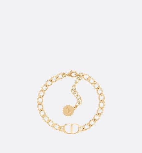 Petit CD Bracelet • Gold-Finish Metal