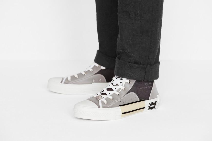 B23 High-Top Sneaker • Dark Gray Canvas