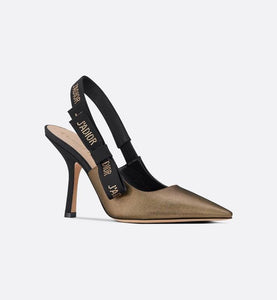 J'Adior Slingback Pump • Metallic Bronze Fabric