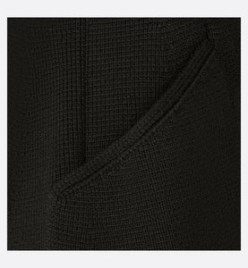 Knited Bar Jacket • Black Wool