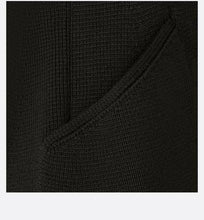 Load image into Gallery viewer, Knited Bar Jacket • Black Wool