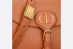 Medium Dior Bobby Bag • Dark Tan Box Calfskin