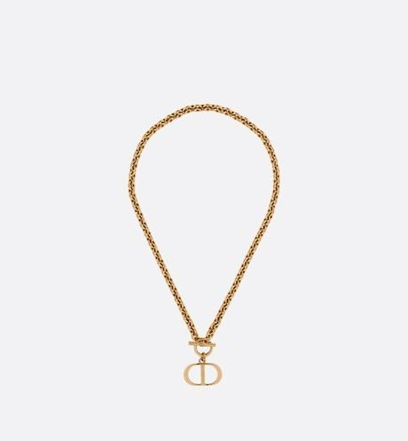 30 Montaigne Necklace • Antique Gold-Finish Metal