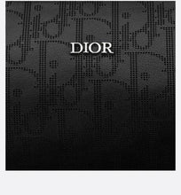 Load image into Gallery viewer, Roller Messenger Bag • Black Dior Oblique Galaxy Leather