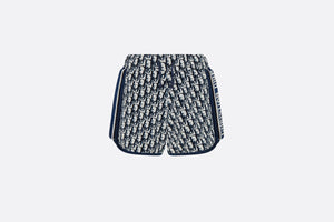 Shorts • Navy Blue and White Dior Oblique Cotton Jersey