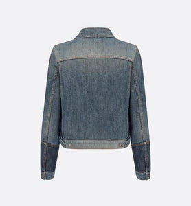 Jacket • Blue Dior Patchwork Cotton Denim
