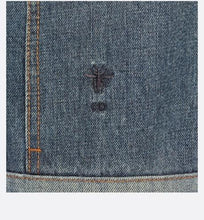 Load image into Gallery viewer, Jacket • Blue Dior Patchwork Cotton Denim