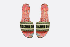 Dway Slide • Multicolor Embroidered Cotton