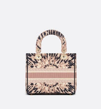 Load image into Gallery viewer, Medium Lady D-Lite Bag • Multicolor Tie & Dior Embroidery