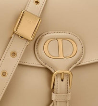 Load image into Gallery viewer, Medium Dior Bobby Bag • Beige Box Calfskin