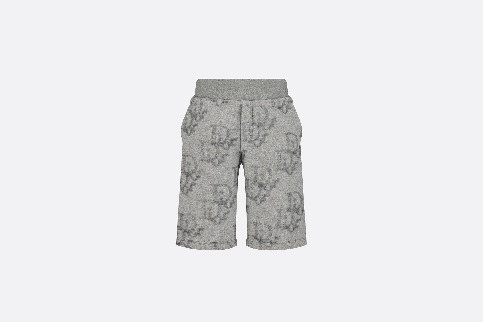 Shorts • Heather Gray Needle-Punched Cotton Fleece