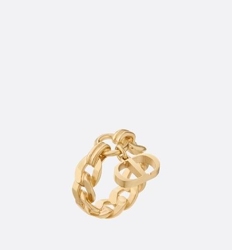 30 Montaigne Ring • Gold-Finish Metal