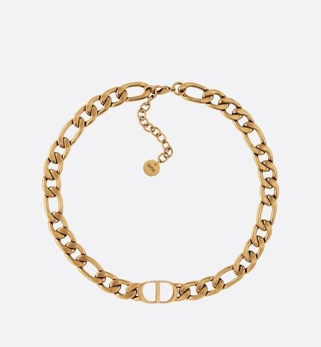 30 Montaigne Choker • Antique Gold-Finish Metal