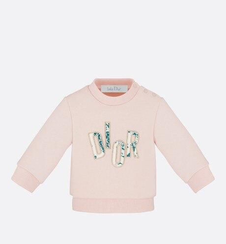 Sweatshirt • Powder Pink Cotton Fleece