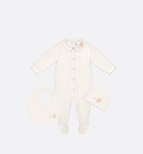 Newborn Gift Set • Ivory Cotton Poplin