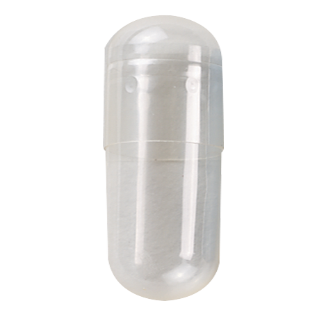 Clear Gelatin Capsule size 000