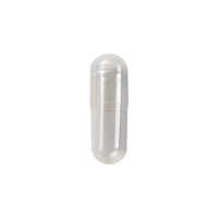 Clear Gelatin Capsule size 3