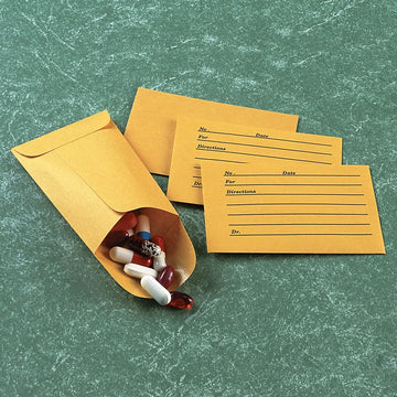 Plain Pill Envelopes