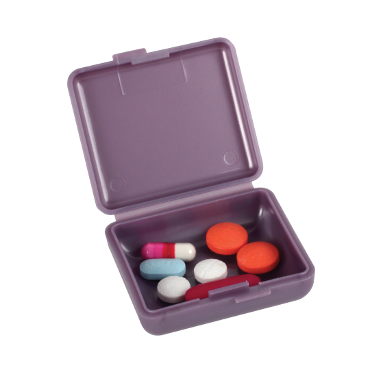 Pockettes® Pillbox