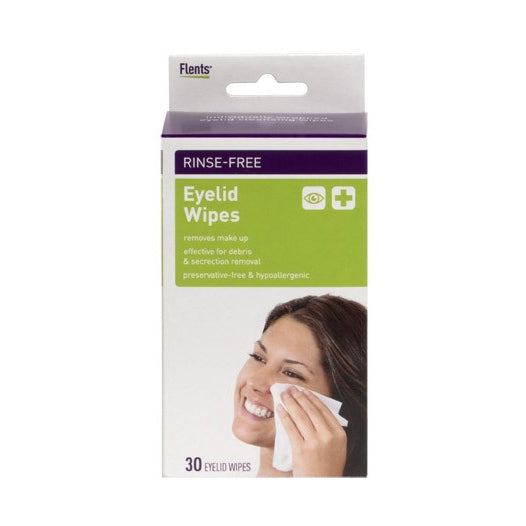 package of Eyelid Wipes