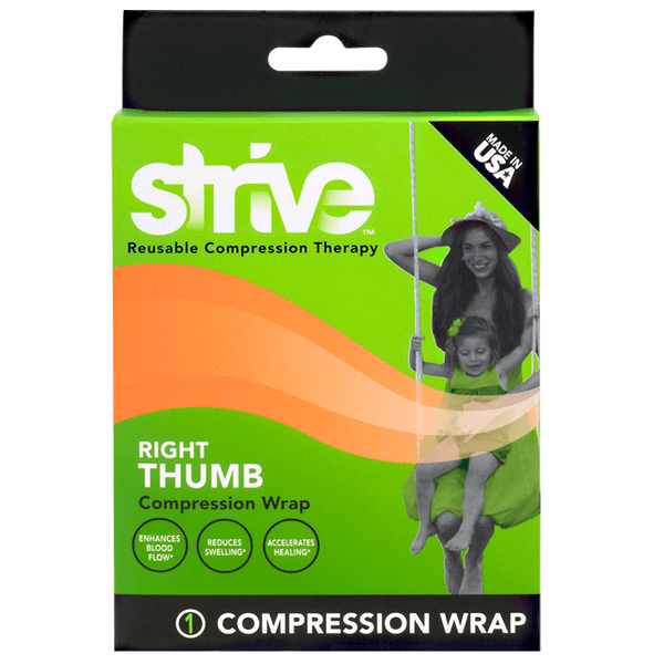 How to use Strive Right Thumb Compression Wrap