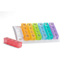 Ezy Dose Weekly 4x/Day Pill Planner, Rainbow