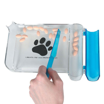 Custom Imprint Pill Counting Tray (Left-Hand)