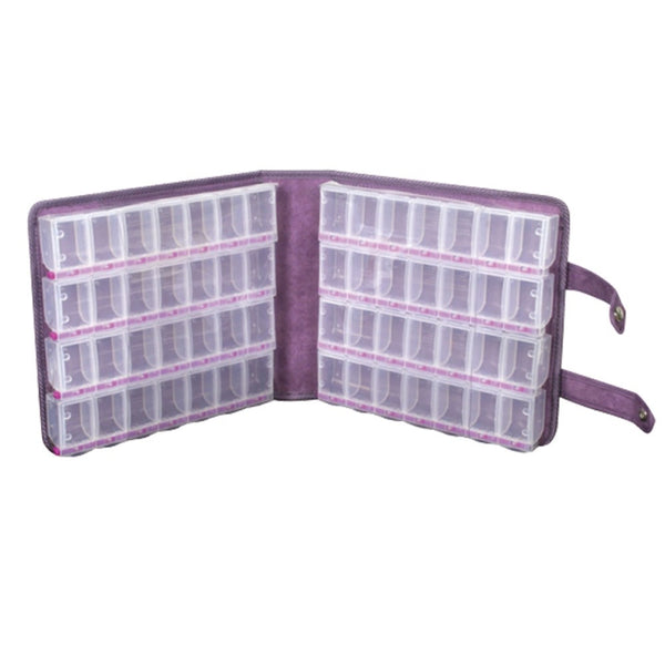 CraftMates® Double-Sided Case with 8-Organizers