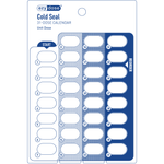 Cold Seal Card 31-dose calendar front