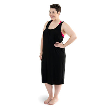 easy access nursing nightgown
