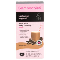 lactation support drink mix (chocolate)