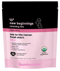 new beginnings recovery tea (black cherry)