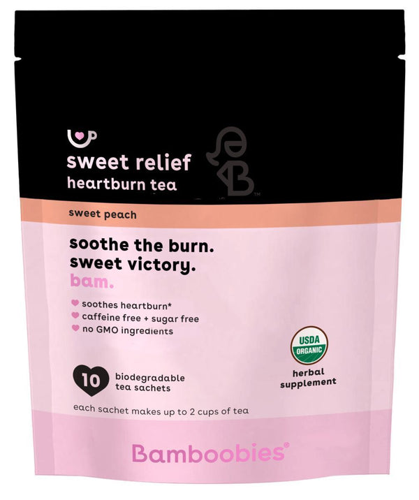 sweet relief heartburn tea (sweet peach)