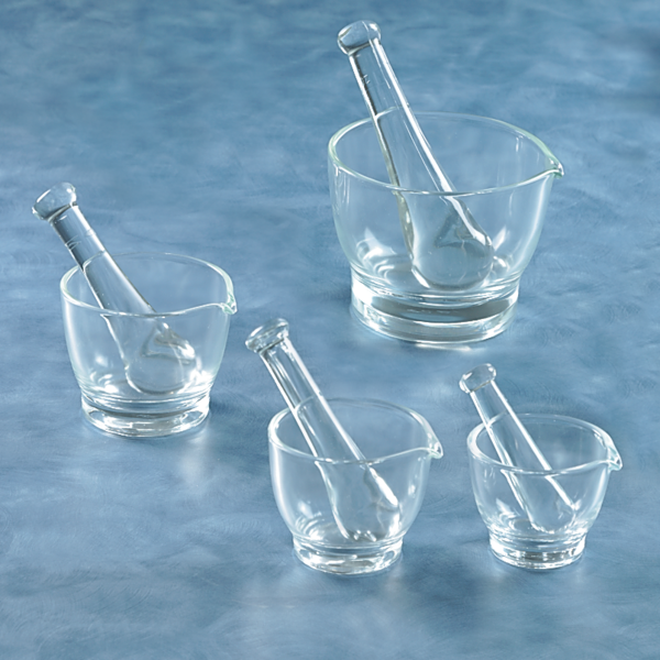 Glass Mortar & Pestle Set