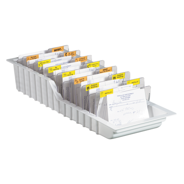 Plastic Rx Triage Tray