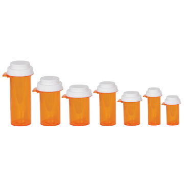 Ezy Dose® Push-Tab Vial with Reversible Cap