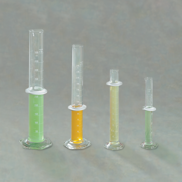 Double-Scale Graduated Cylinder