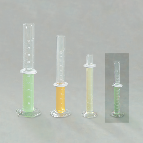 Double-Scale Graduated Cylinder 50ml