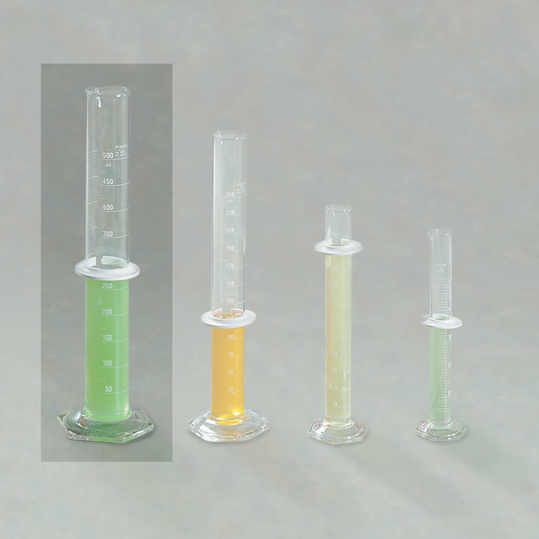 Double-Scale Graduated Cylinder 500ml