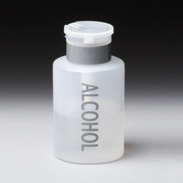 Alcohol Touch Pump Bottle closed