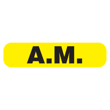 """AM"" Label"