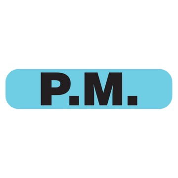 """PM"" Label"