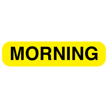 """MORNING"" Label"
