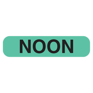 """NOON"" Label"