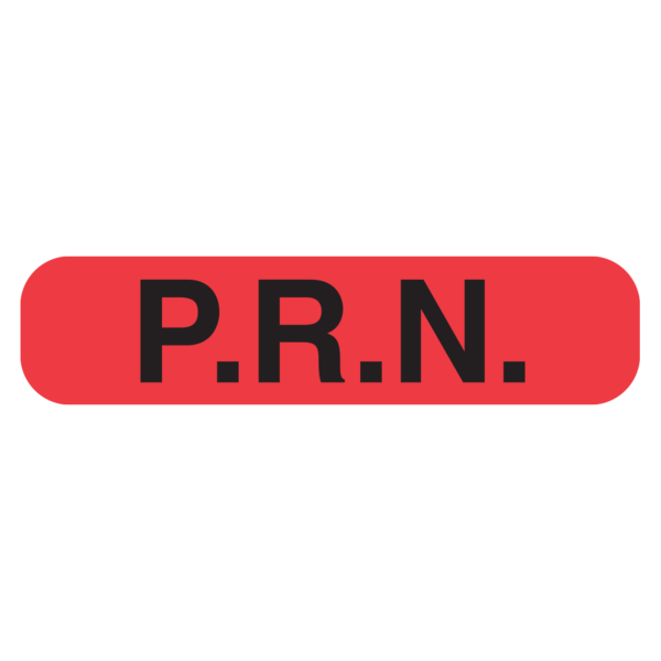 """PRN"" Medication Label"