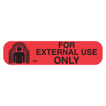 """FOR EXTERNAL USE"" Label"