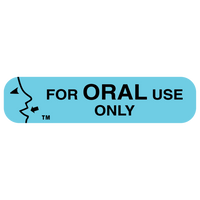 """ORAL USE ONLY"" Medication Label"