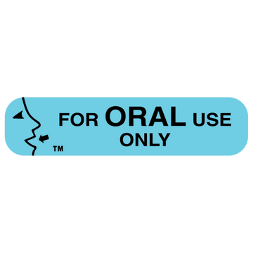 """ORAL USE ONLY"" Label"