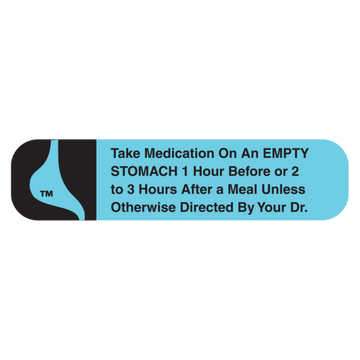 """EMPTY STOMACH"" Label"